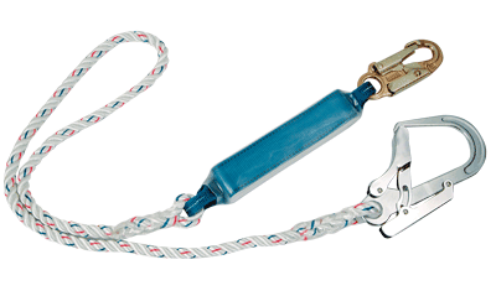 Single Lanyard + Shock Absorber FP23
